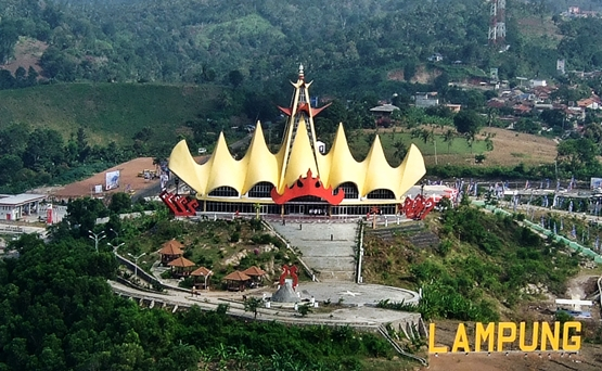 Fasilitas Menara Siger Sebagai Tempat Wisata Di Lampung